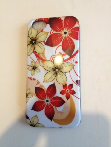 Iphone5 candy skin cover.