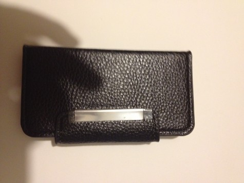Iphone5 Black Premium Book-style my jacket wallet