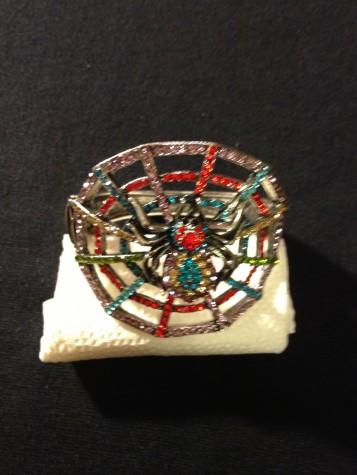 Multi Colorful Spider Stone Bracelet