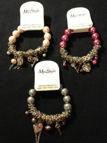 My Style Jewelry Key Charm Beaded Bracelet.