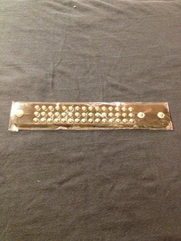 Unisex Studded Bracelet Strap.
