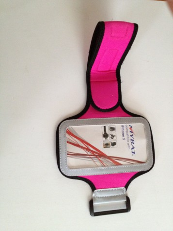 Iphone 5 Sport Arm Band Hot Pink.