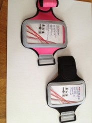 Universal Sport Arm Band Pink & Black.